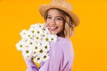 Image Of Optimistic Woman In E...