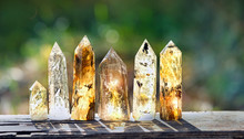 Quartz Stones Mineral. Beautif...
