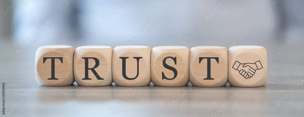 Fototapeta Concept of trust