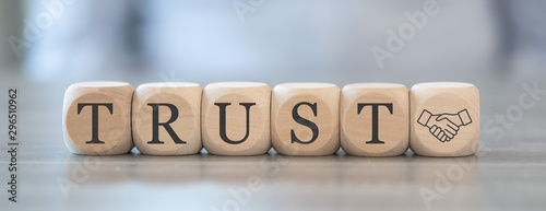Photographie Concept of trust