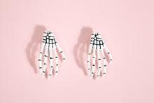 Pink Skeleton Hand