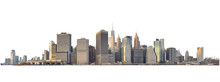 Manhattan Skyline Isolated On ...