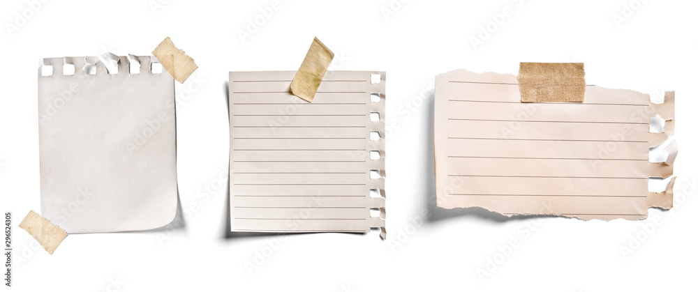 Fototapeta note paper blank sign tag label