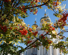 The Domes Of The Orthodox Chur...