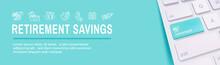 Retirement Savings Icon Set An...