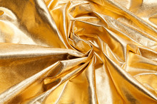 Pattern Gold Fabric Waves