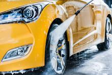 Car Wash Using High Pressure W...