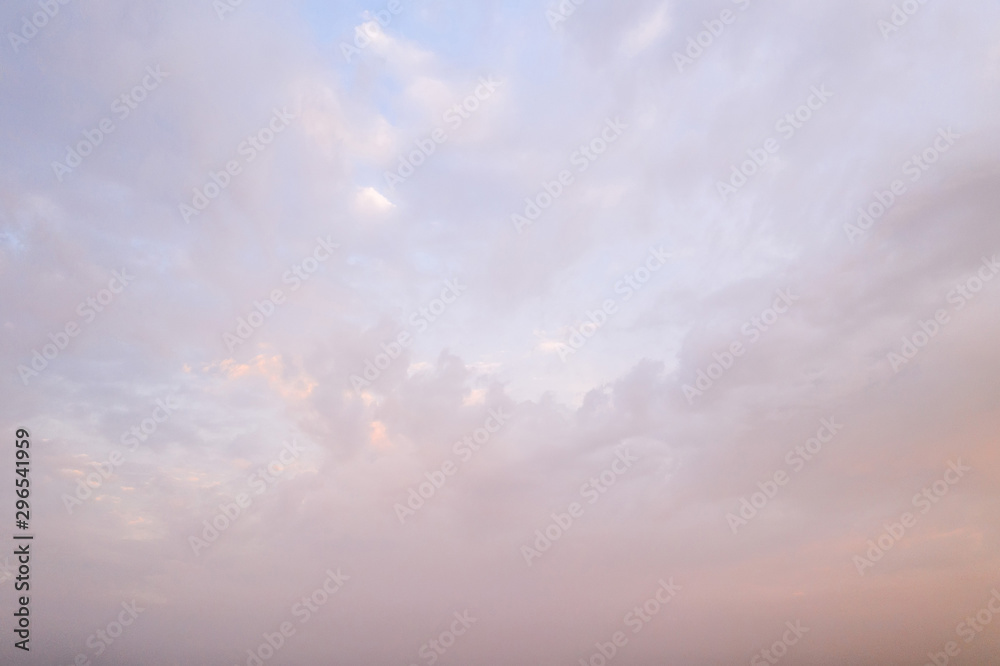 sunset cloudy background