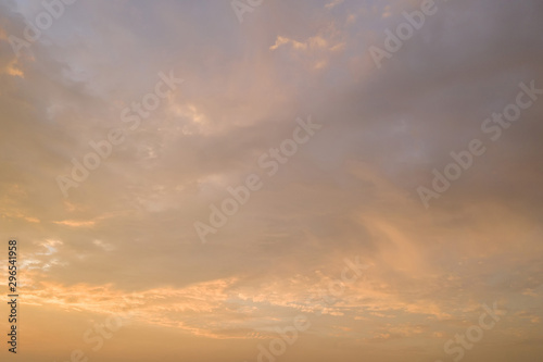 Foto  sunset cloudy background