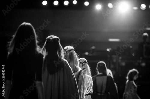 Photographie  Fashion Show, Runway Show, Catwalk Event.