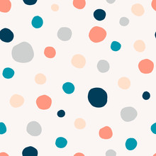 Polka Dot, Circles Hand Drawn ...