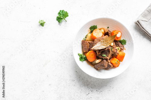 Fotomural  Meat and Vegetables Stew