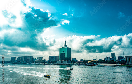 Foto A view of the Lagoon, Victoria Island, Lagos