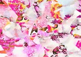 watercolor digital graphic kaleidoscope abstract background