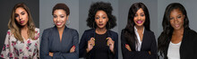Group Of 5 Minority African Am...