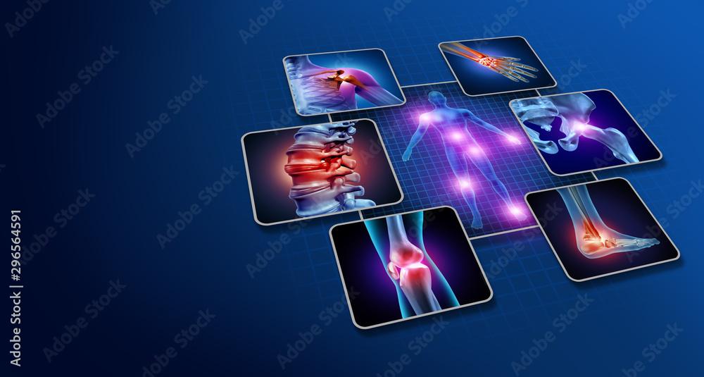 Fototapety, obrazy: Body Joint Pain