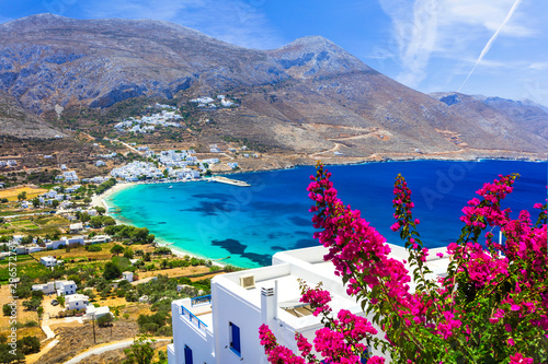 Photo luxury Greek holidays - Amorgos island,Aegialis bay, Cyclades