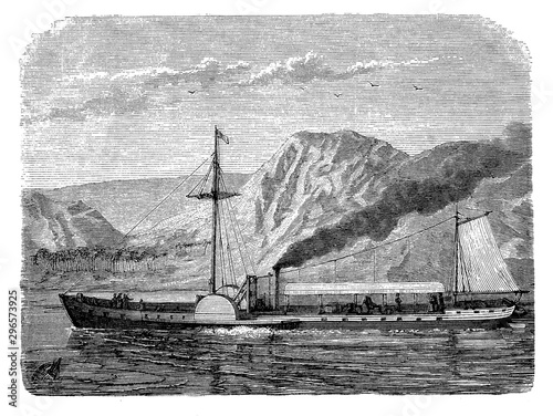 Valokuva Robert Fulton American inventor developed a commercially successful steamboat ca
