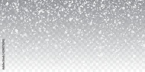 Photo  Christmas snow
