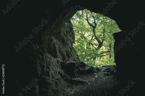Obraz na płótnie Höhle, Volkmarskeller im Harz