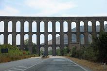 Ancient Aqueduct Near Caserta ...