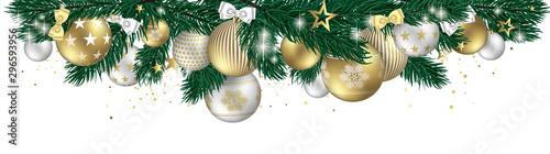 Obraz Christmas design banner - fototapety do salonu