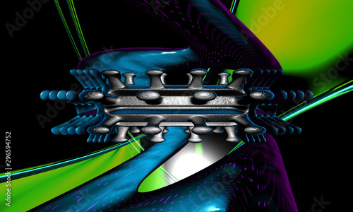 3d Abstract Design Wallpaper Mural
