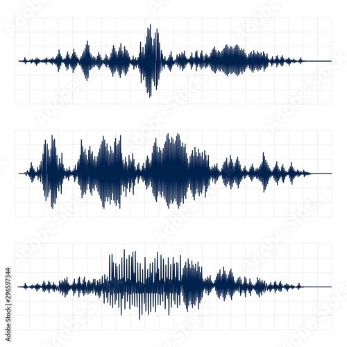 Photo Seismograph chart