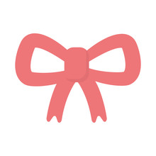 Red Bow Decoration Celebration Merry Christmas