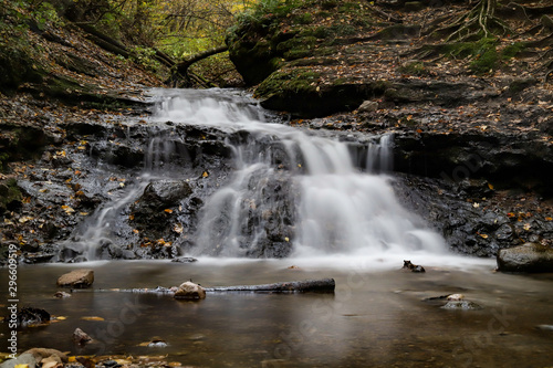 Parfrey's Glen Waterfall