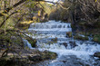 Willow River Falls at Willow River State Park in Hudson Wisconsin USA