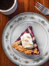 Marionberry Pie In An Oregon D...