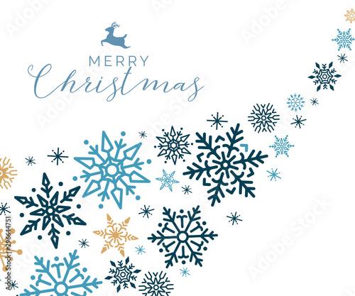 Merry Christmas holiday design background vector Fotobehang