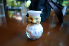 Pepper In Chef Style Toy With Transparent Glass Jar