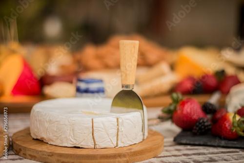 Vászonkép mesa de quesos