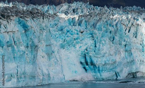 Calving Hubbard Glacier