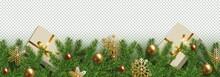 Christmas, New Year Border Rea...