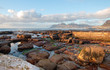 canvas print picture - Tidepools at Saint James beach in Capetown South Africa