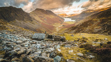 A View Of Buttermere From Warnscale Bothy In The Lake District, England