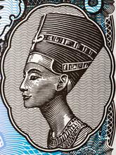 Nefertiti A Portrait From Egyptian Money