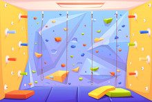 Rock Climbing Wall With Grips,...