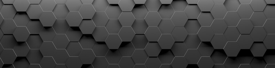 FototapetaAbstract Hexagon Geometric Surface Loop 1A: light bright clean minimal hexagonal grid pattern, random waving motion background canvas in pure wall architectural white.