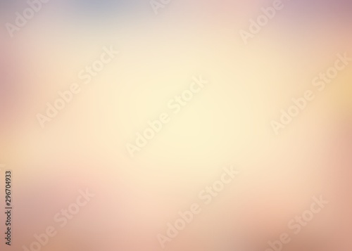 Beige smoky old texture blur. Sandy abstract vignette background. Vintage card illustration. - 296704933