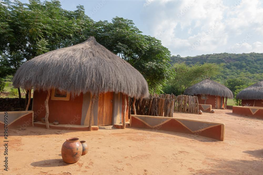 Fototapety, obrazy: Botswana house