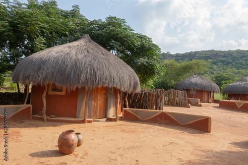 Photo  Botswana house