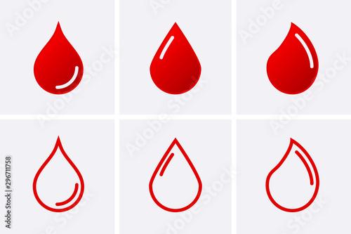 Photo Blood driop Icon
