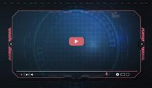 Futuristic Desktop Video Playe...