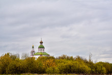 The Church Of Elijah The Prophet On Ivanova Hill Was Built In 1744 By Order Of Metropolitan Hilarion Of Suzdal. Suzdal, Russia,