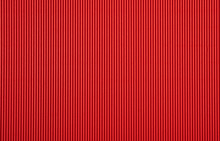 Red Corrugated Paperboard Texture And Background