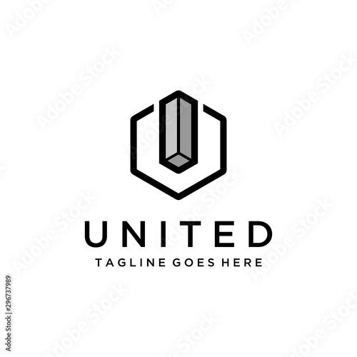 Fotografía  Simple modern geometry Logo Design